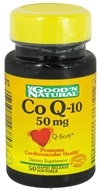 Good 'N Natural - Q-Sorb CoQ-10 50 mg. - 50 Softgels, from category: Nutritional Supplements