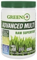 Greens Plus - Advanced Multi Superfood Powder Raw - 9.4 oz. Formerly The Original Superfood Powder