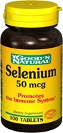 Good 'N Natural - Selenium 50 mcg. - 100 Tablets - $1.79
