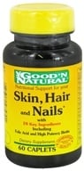 Good 'N Natural - Skin, Hair & Nails - 60 Caplets, from category: Nutritional Supplements