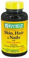 Good 'N Natural - Skin, Hair & Nails - 120 Tablets, from category: Nutritional Supplements