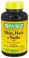 Good 'N Natural - Skin, Hair & Nails - 120 Tablets - $7.15