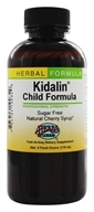 Image of Herbs Etc - Kidalin Child Formula Professional Strength Cherry - 4 oz.