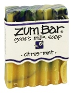 Image of Indigo Wild - Zum Bar Goat's Milk Soap Citrus-Mint - 3 oz.