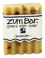 Indigo Wild - Zum Bar Goat's Milk Soap Lavender - 3 oz. by Indigo Wild