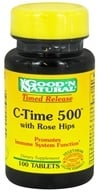 Good 'N Natural - C-Time 500 With Rose Hips Time Release - 100 Tablets