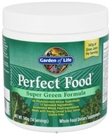 Garden of Life - Perfect Food Super Green Formula Powder - 4.94 oz. (658010111546)