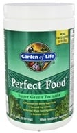 Garden of Life - Perfect Food Super Green Formula Powder - 10.58 oz. (658010111287)