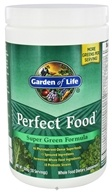 Garden of Life - Perfect Food Super Green Formula Powder - 10.58 oz.