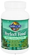 Garden of Life - Perfect Food Super Green Formula - 75 Vegetarian Caplet(s), from category: Nutritional Supplements
