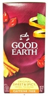 Good Earth Teas - Original Sweet & Spicy Herbal Tea Caffeine Free - 25 Tea Bags - $3.70