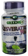 Greens Plus - Resveratrol Plus - 120 Vegetarian Capsules (769745200020)