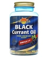 Image of Health From The Sun - Black Currant Oil 1000 mg. - 60 Softgels