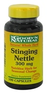 Good 'N Natural - Stinging Nettle 300 mg. - 100 Capsules (074312460418)