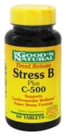 Good 'N Natural - Stress B Plus C-500 Time Release - 60 Tablets - $7.75