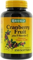 Good 'N Natural - Super Cranberry Fruit plus Vitamin C - 250 Softgels (074312443633)