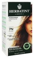 Image of Herbatint - Herbal Haircolor Permanent Gel 7N Blonde - 4.56 oz.