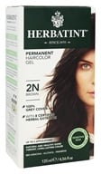 Herbatint - Herbal Haircolor Permanent Gel 2N Brown - 4.5 oz. (666248001010)