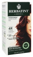 Herbatint - Herbal Haircolor Permanent Gel 4R Copper Chestnut - 4.5 oz. (666248001188)