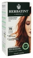 Image of Herbatint - Herbal Haircolor Permanent Gel 7R Copper Blonde - 4.5 oz.