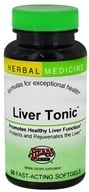 Herbs Etc - Liver Tonic Alcohol Free - 60 Softgels by Herbs Etc