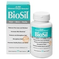Image of Natural Factors - BioSil cH-OSA Advanced Collagen Generator 5 mg. - 30 Vegetarian Capsules Formerly by Jarrow & Natrol