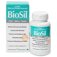 Natural Factors - BioSil cH-OSA Advanced Collagen Generator 5 mg. - 30 Vegetarian Capsules Formerly by Jarrow & Natrol by Natural Factors