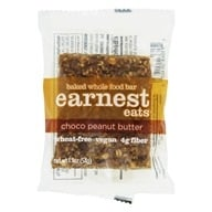 Earnest Eats - Baked Whole Food Bar Choco Peanut Butter - 1.9 oz., from category: Nutritional Bars