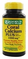 Good 'N Natural - Coral Calcium Plus with Vitamin D & Magnesium 1000 mg. - 60 Capsules, from category: Vitamins & Minerals