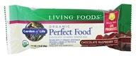Garden of Life - Perfect Food Greens Bar Chocolate Raspberry - 2.25 oz.