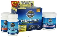 Garden of Life - Perfect Cleanse Kit - $17.44