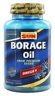 Health From The Sun - Borage Oil 1300 mg. - 60 Softgels Formerly GLA