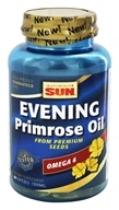 Health From The Sun - Evening Primrose Oil 1300 mg. - 60 Softgels (Formerly Evening Primrose Deluxe) (010043010867)