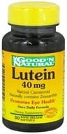 Good 'N Natural - Lutein 40 mg. - 30 Softgels, from category: Nutritional Supplements