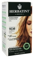 Herbatint - Herbal Haircolor Permanent Gel 9DR Copperish Gold - 4.5 oz. (666248001287)