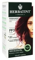 Herbatint - Herbal Haircolor Permanent Gel FF3 Plum - 4.5 oz.