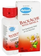 Image of Hylands - Backache with Arnica - 100 Tablets