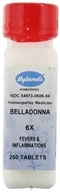 Hylands - Belladonna 6 X - 250 Tablets CLEARANCE PRICED