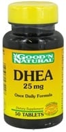 Good 'N Natural - DHEA 25 mg. - 50 Tablets by Good 'N Natural
