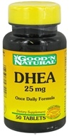 Good 'N Natural - DHEA 25 mg. - 50 Tablets - $2.73