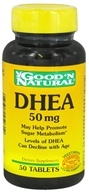 Good 'N Natural - DHEA 50 mg. - 50 Tablets (074312450310)