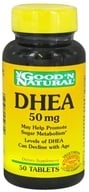 Good 'N Natural - DHEA 50 mg. - 50 Tablets by Good 'N Natural