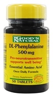Good 'N Natural - DL-Phenylalenine 500 - 50 Tablets by Good 'N Natural