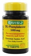 Good 'N Natural - DL-Phenylalenine 500 - 50 Tablets (074312440502)