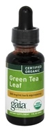 Gaia Herbs - Green Tea Certified Organic - 1 oz. - $10.21