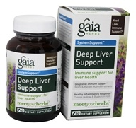 Gaia Herbs - Deep Liver Support Liquid Phyto Capsules - 60 Vegetarian Capsules Formerly Hep Support by Gaia Herbs