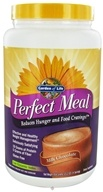 Garden of Life - Perfect Meal Powder Milk Chocolate - 658 Grams