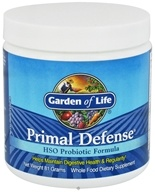 Garden of Life - Primal Defense HSO Probiotic Formula Powder - 81 Grams