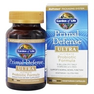 Garden of Life - Primal Defense Ultra Ultimate Probiotic Formula - 90 Vegetarian Capsules, from category: Nutritional Supplements