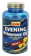 Health From The Sun - Evening Primrose Oil 500 mg. - 180 Softgels, from category: Nutritional Supplements